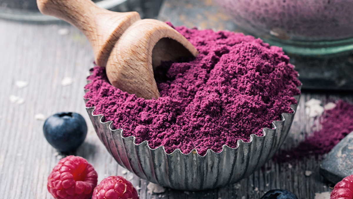 Berry powder