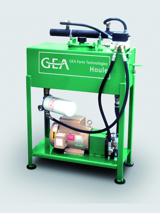 Hydraulic Free Stall Cleaner