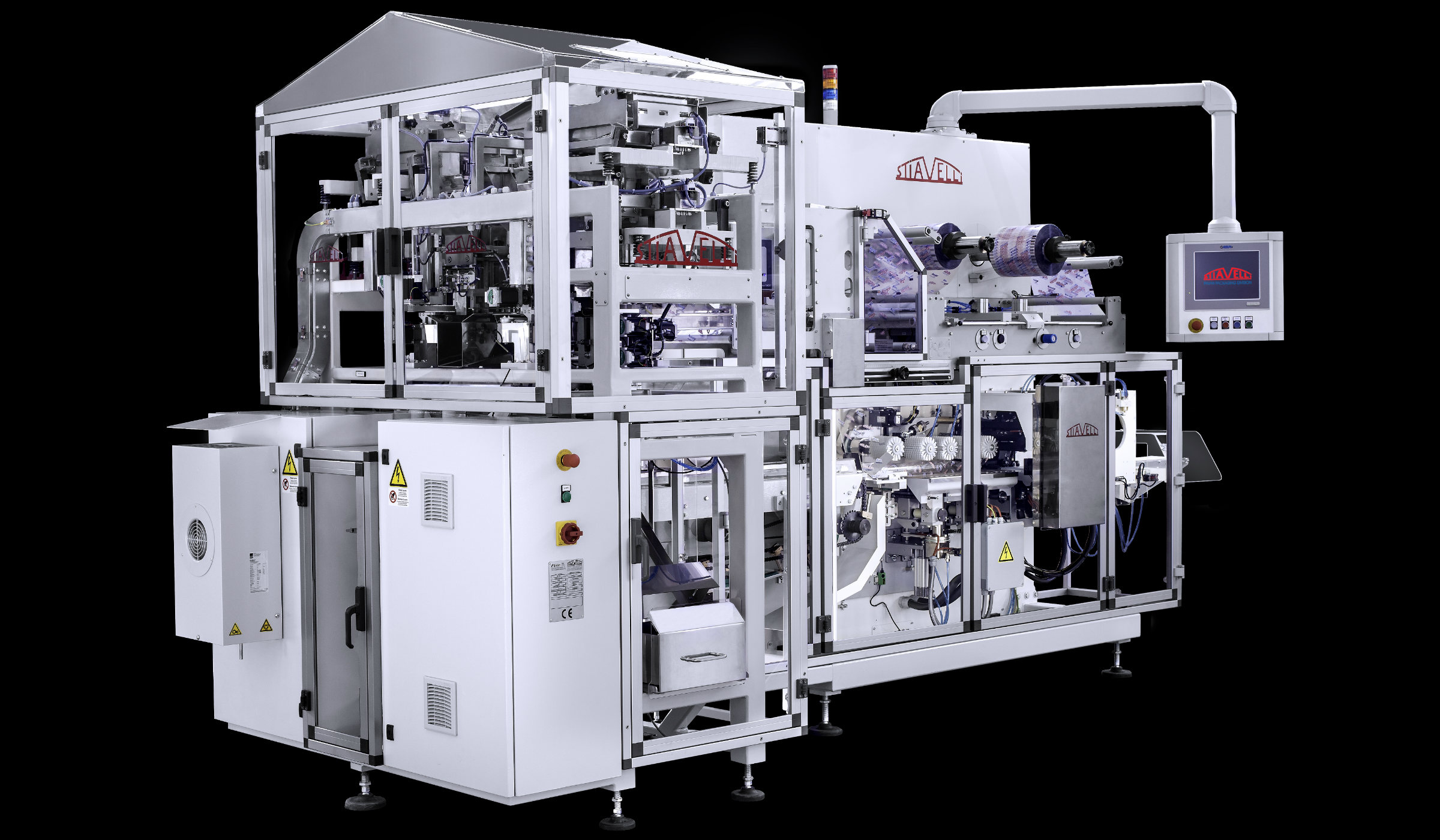 Continuous horizontal packaging unit for long pasta, the Stiavelli SO-EVO with double weight doser. (Photo Pavan/GEA)