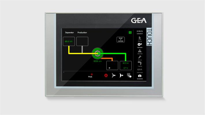 GEA IO - One control for every centrifuge