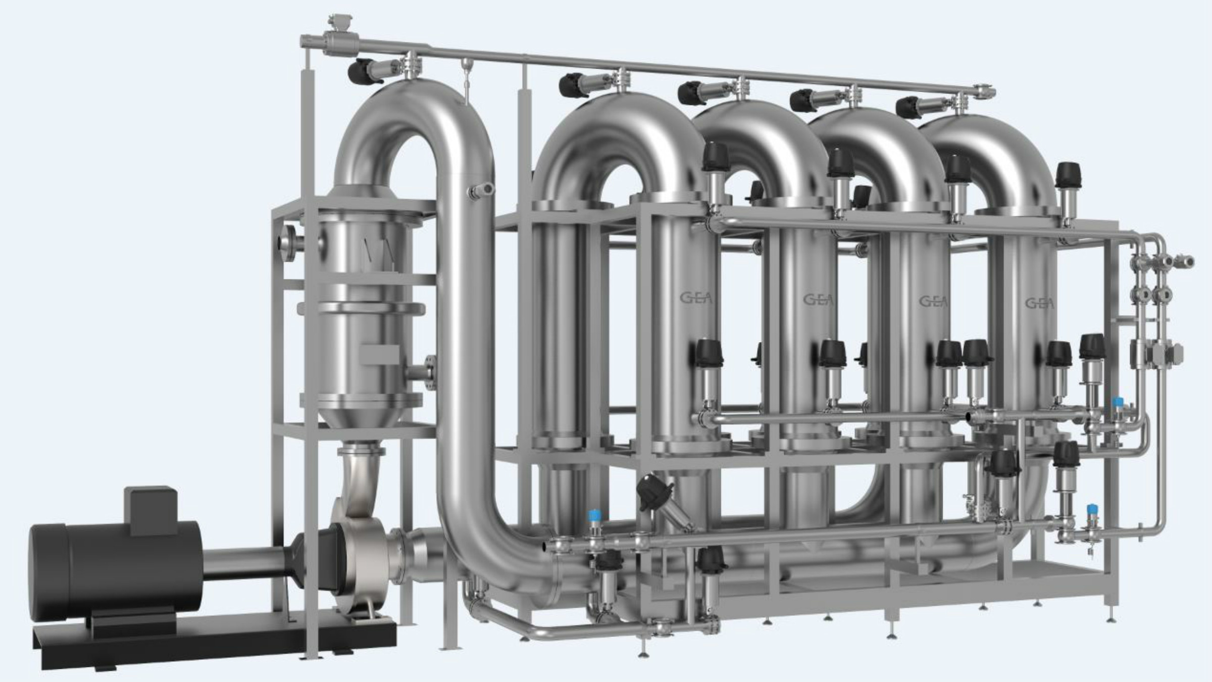 GEA clearamic plant for beer filtration. Image: GEA