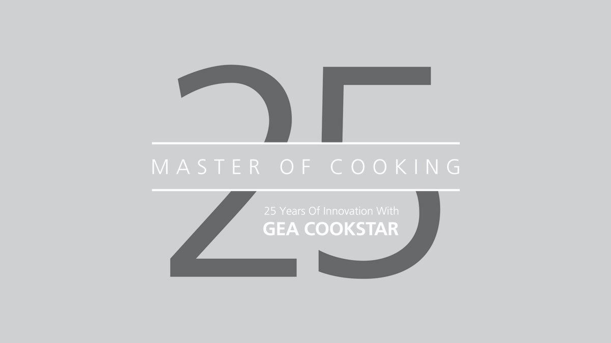 25 years CookStar logo