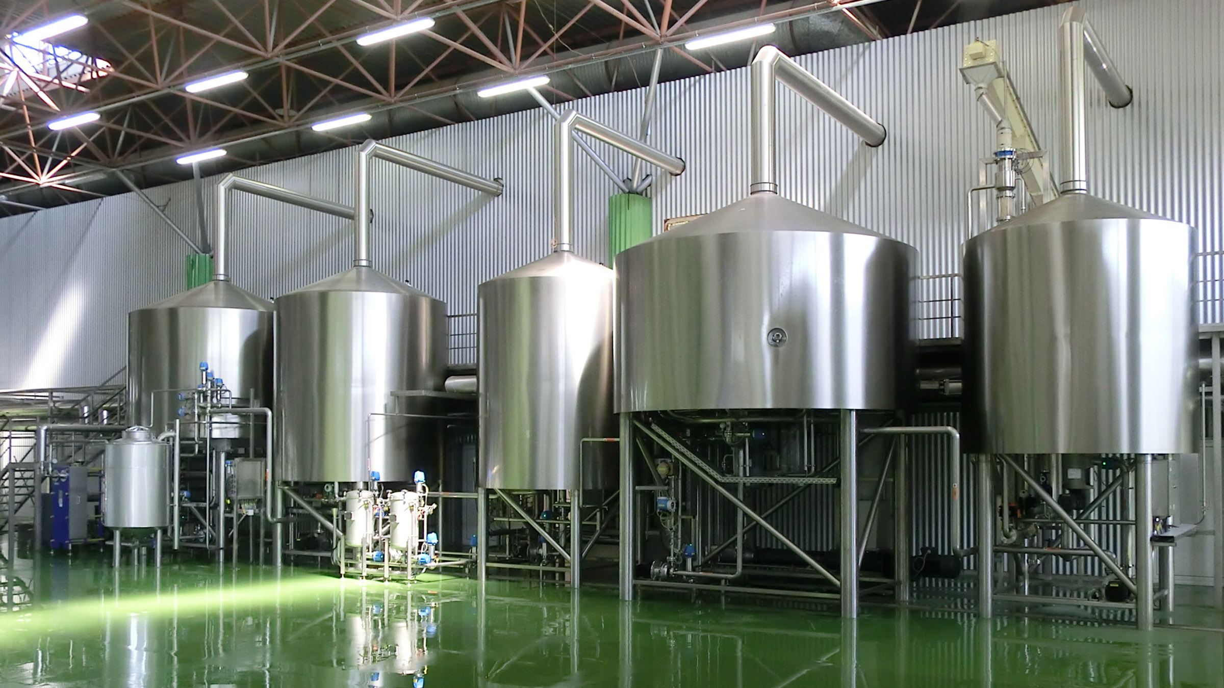 COMPACT-STAR Craft Brewhouse 5 vessel brewery