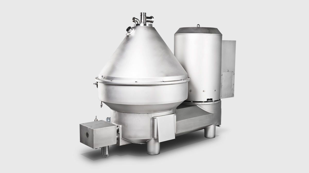 Centrifuge - Separator KSE for Double Cream Fresh Cheese