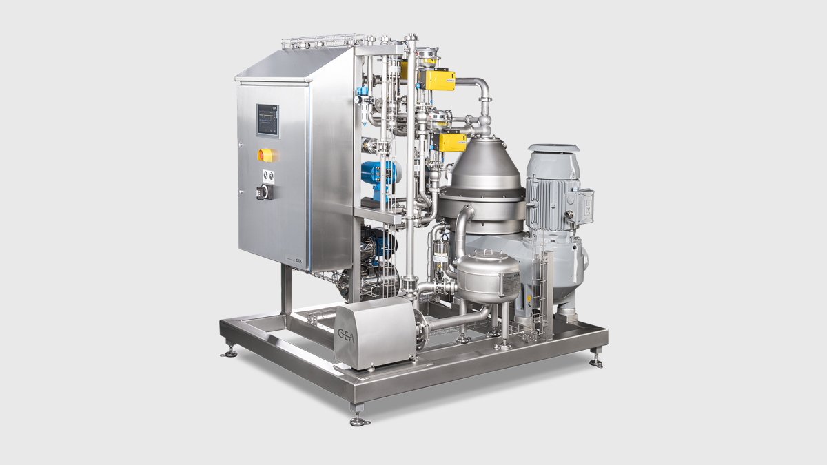 Centrifuge / Standardization unit - GEA dairysmart for Milk, Whey and Cream