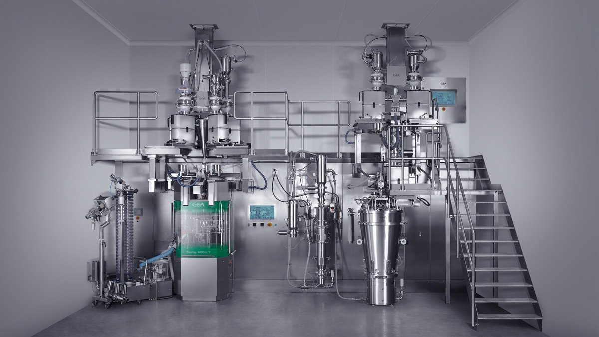 Granulation Line Is For Batch Or Continuous Production