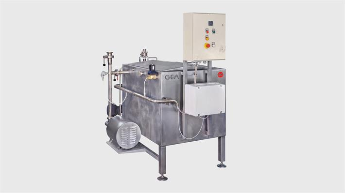 Hot water heaters for cheese