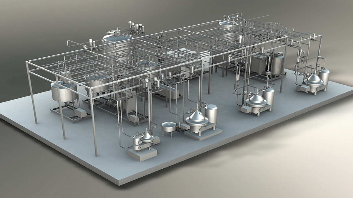 Dairy processing - Milk butter plant