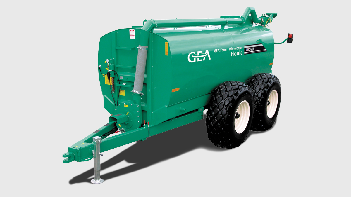 Manure Spreaders with Tandem