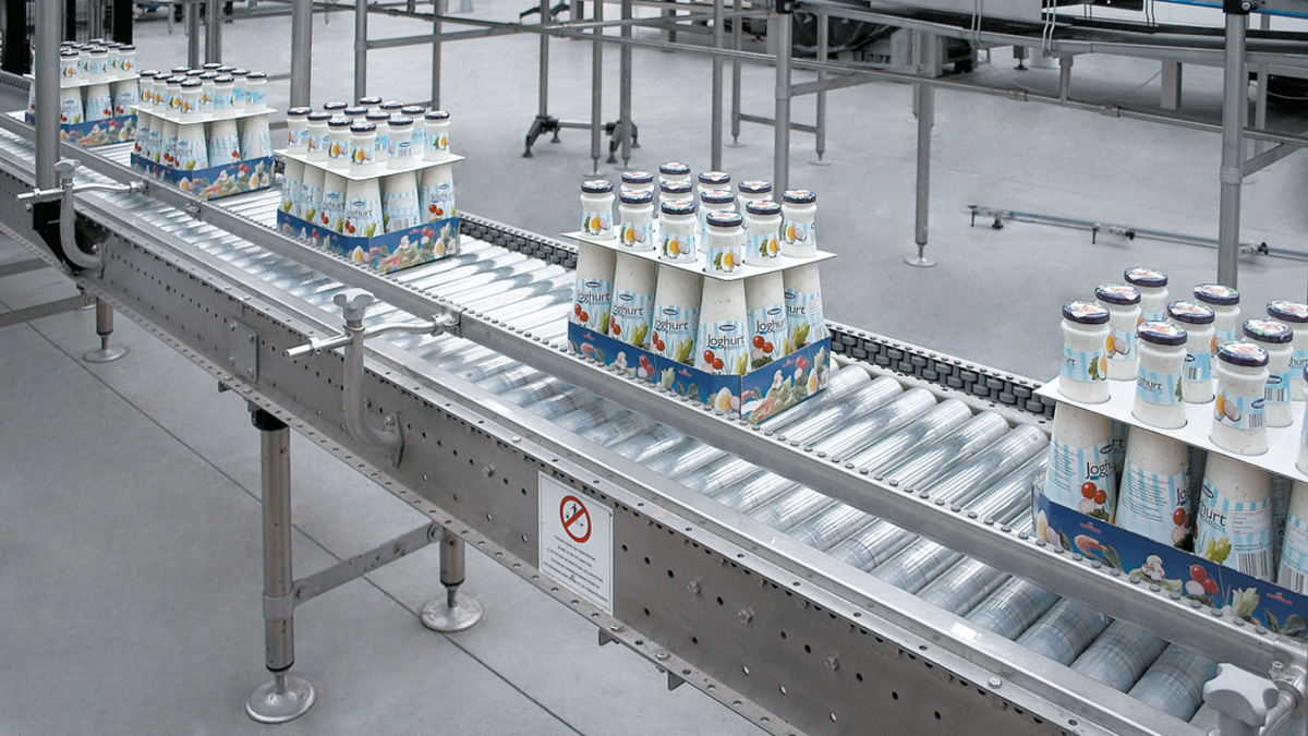 Trays conveyors