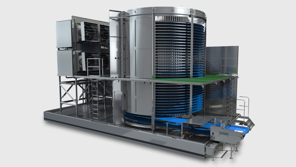 Freezing And Cooling Systems Gea Spiral And Tunnel Freezers
