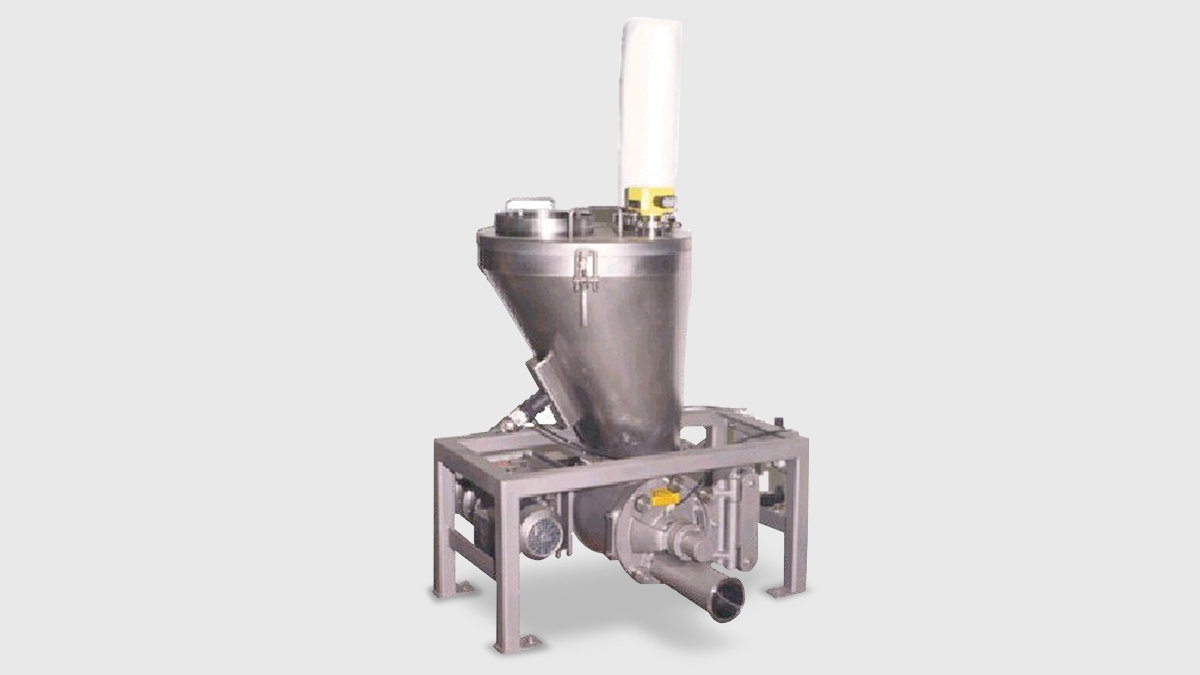 Pressure Conveying Lean Phase