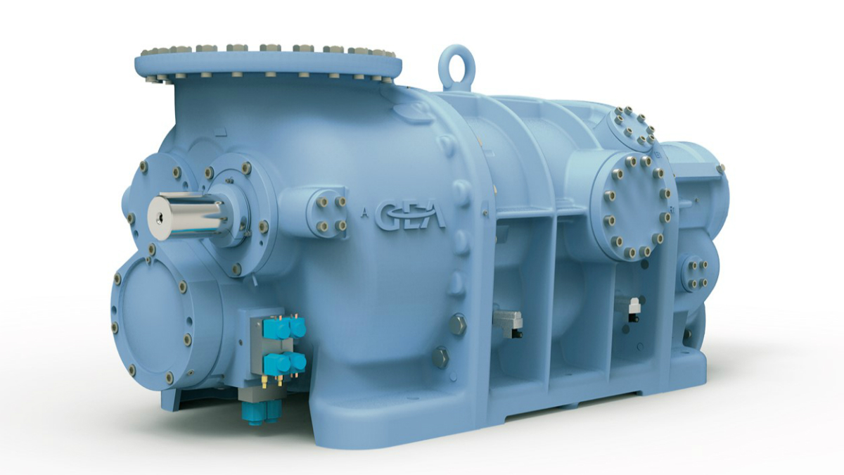 GEA screw compressors match the requirements of the chemical and petrochemical industries (news)