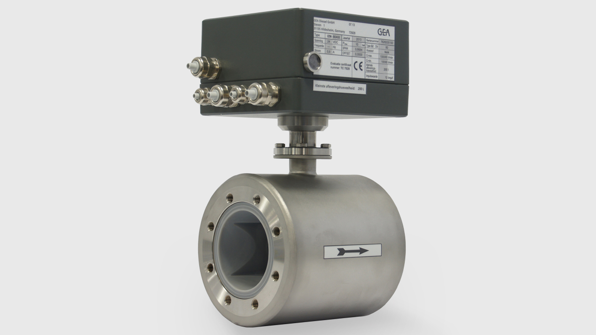 Electromagnetic Flow Meter IZMAG²™ with special measuring tube design