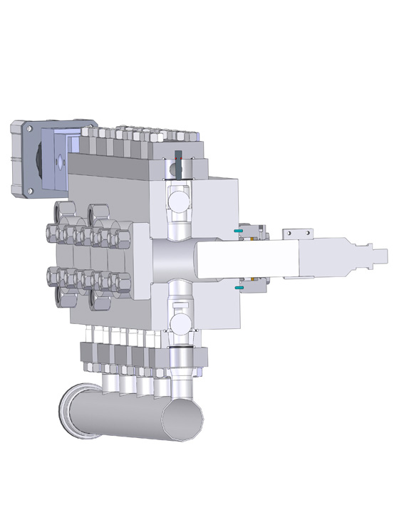 Homogenizer Compression Block - OpenXFLO