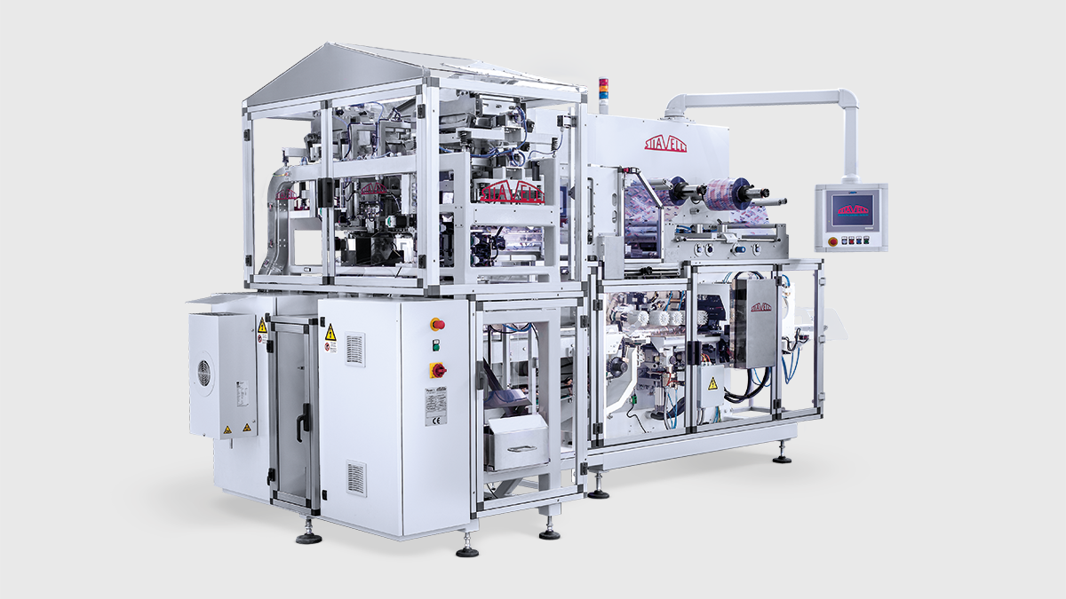 SO-EVO + SPL-M-D2R - Continuous motion packaging system