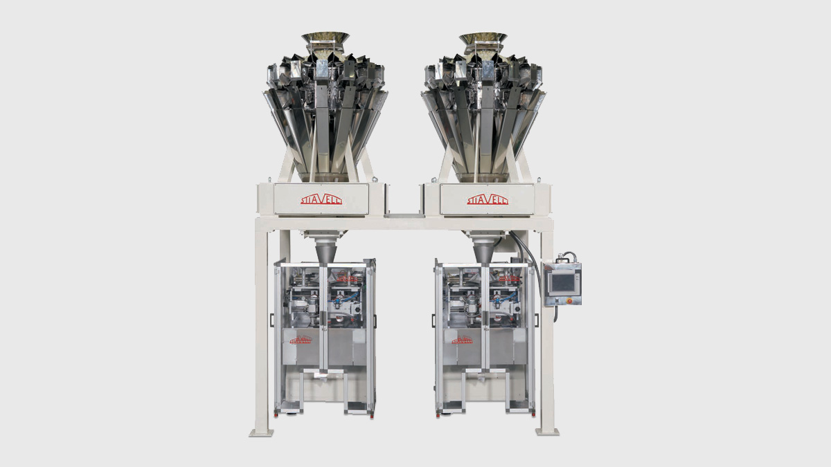 SPC14-S & SVMC-S - Snacks Packaging Machine