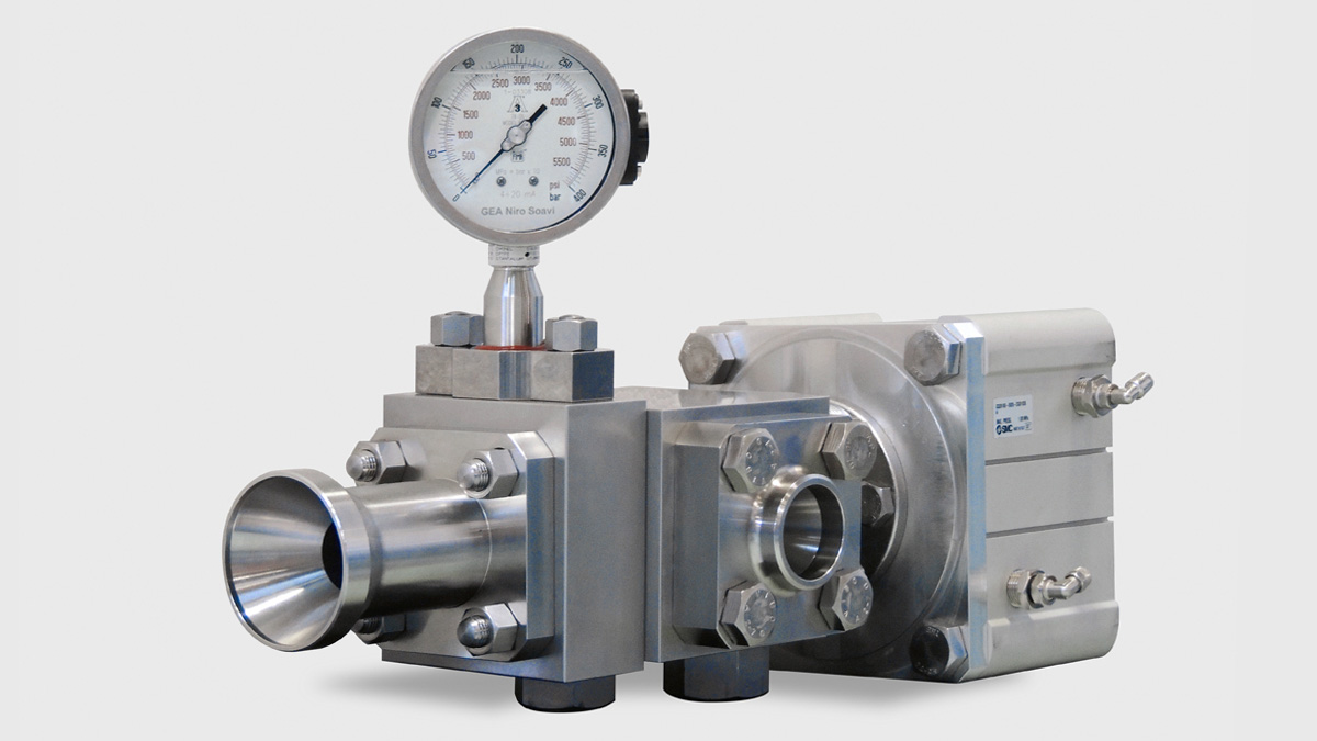 Homogenizing Standard Valve - for remote use