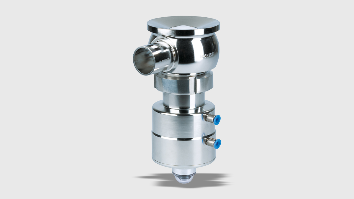 Tank-bottom Valve VESTA® H_A/T – one-piece housing