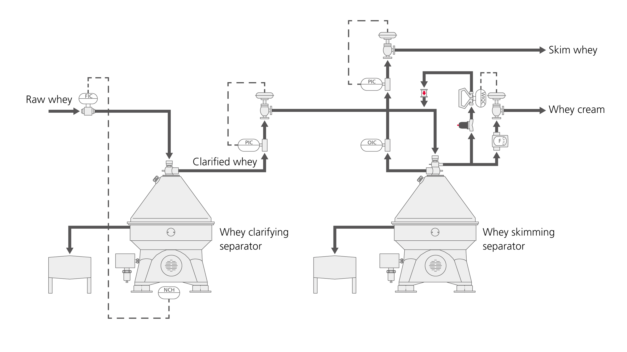 Advanced whey processing