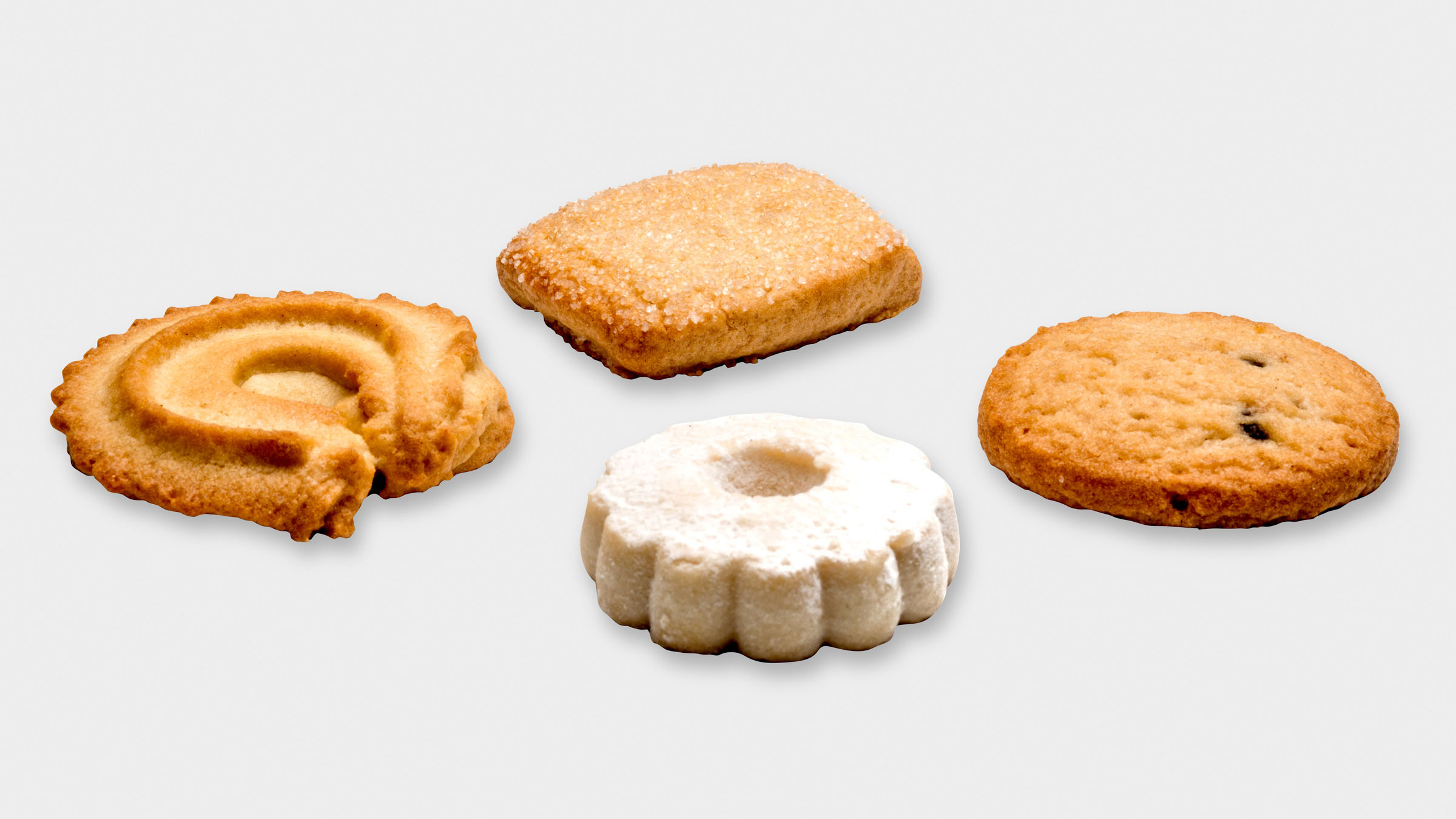 Assorted biscuits