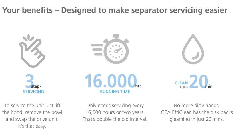 3 key benefits of GEA marine separator