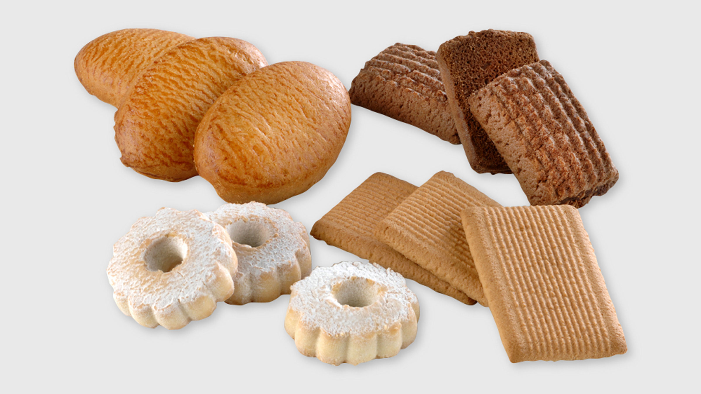 Various biscuits