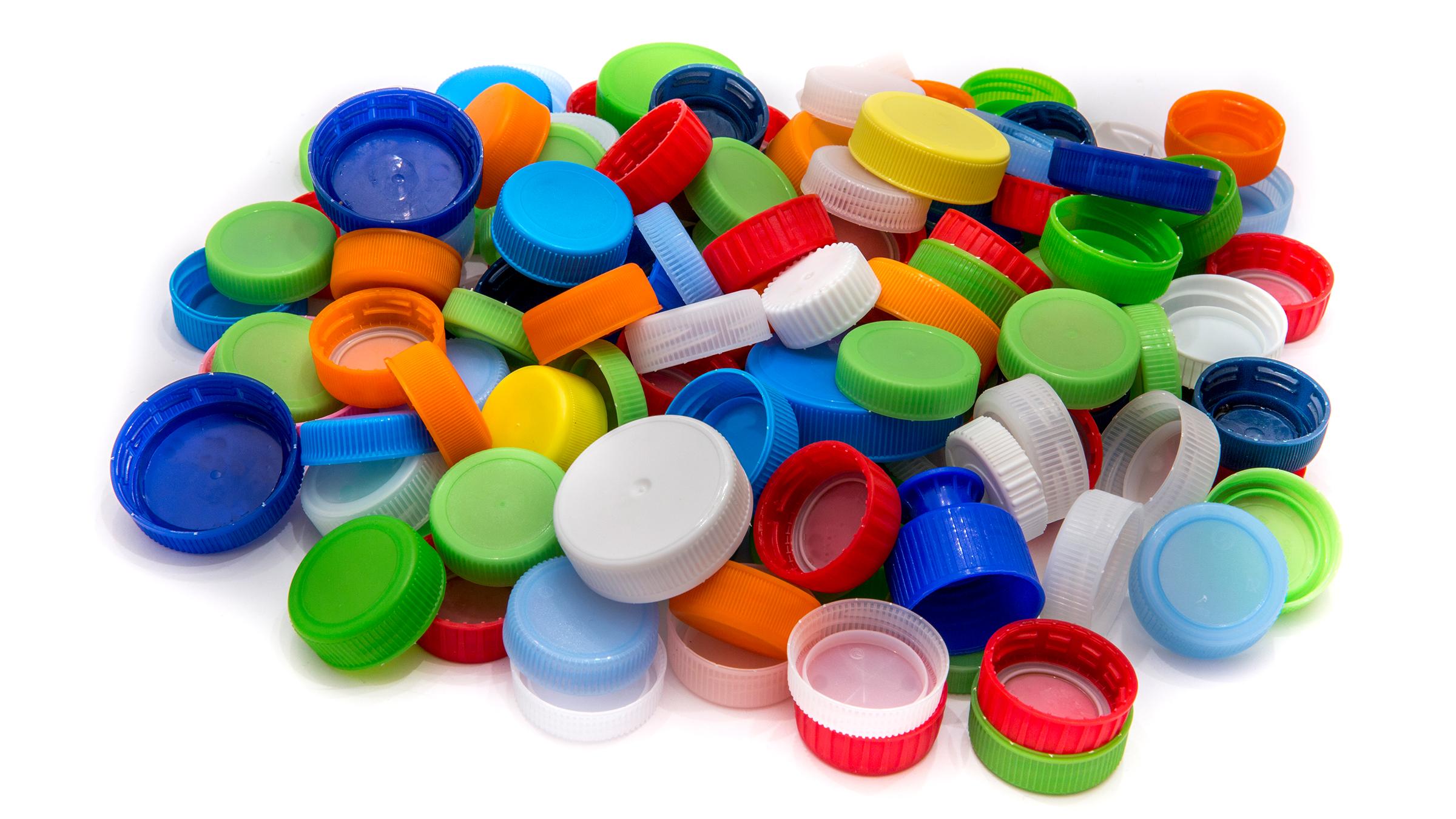 Картинка крышки от пластиковых бутылок