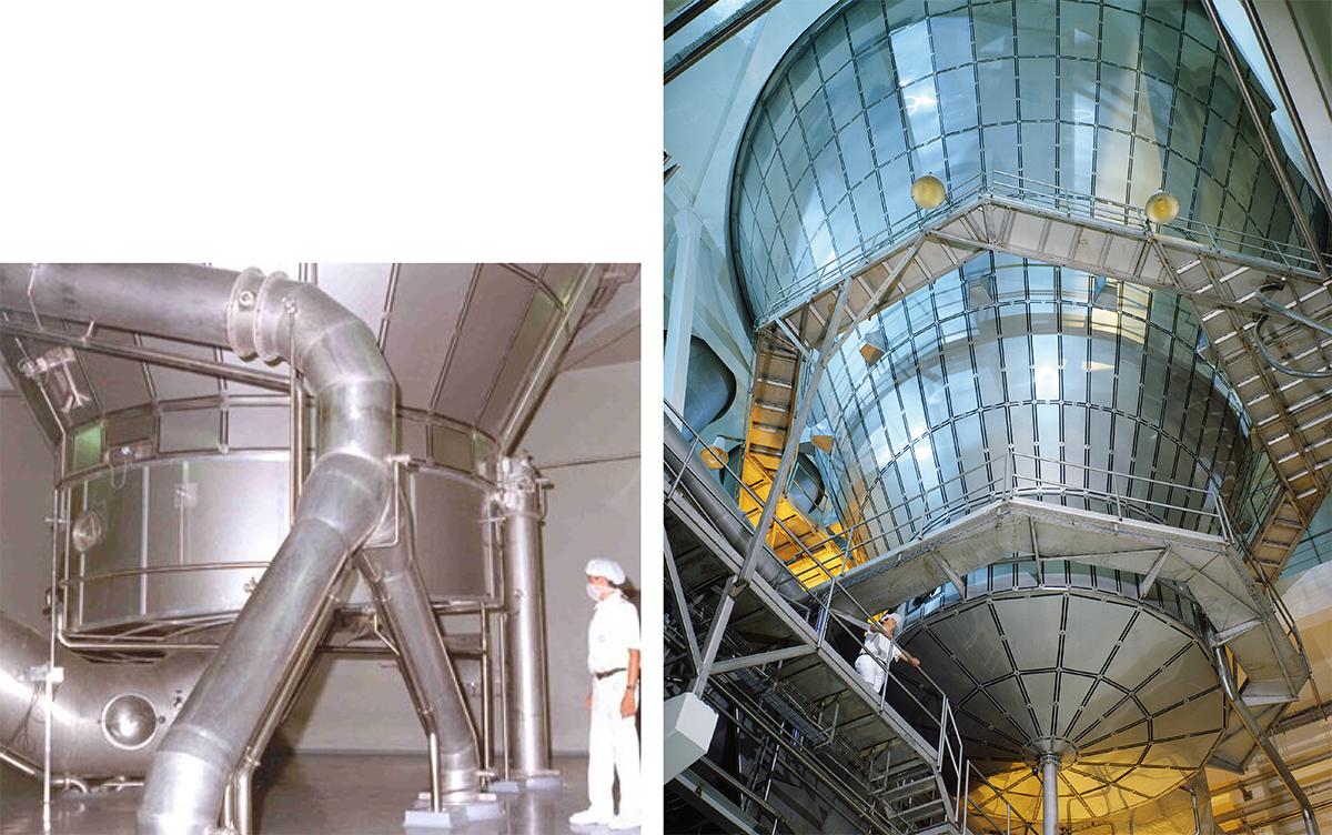Types Of Spray Drying Installations