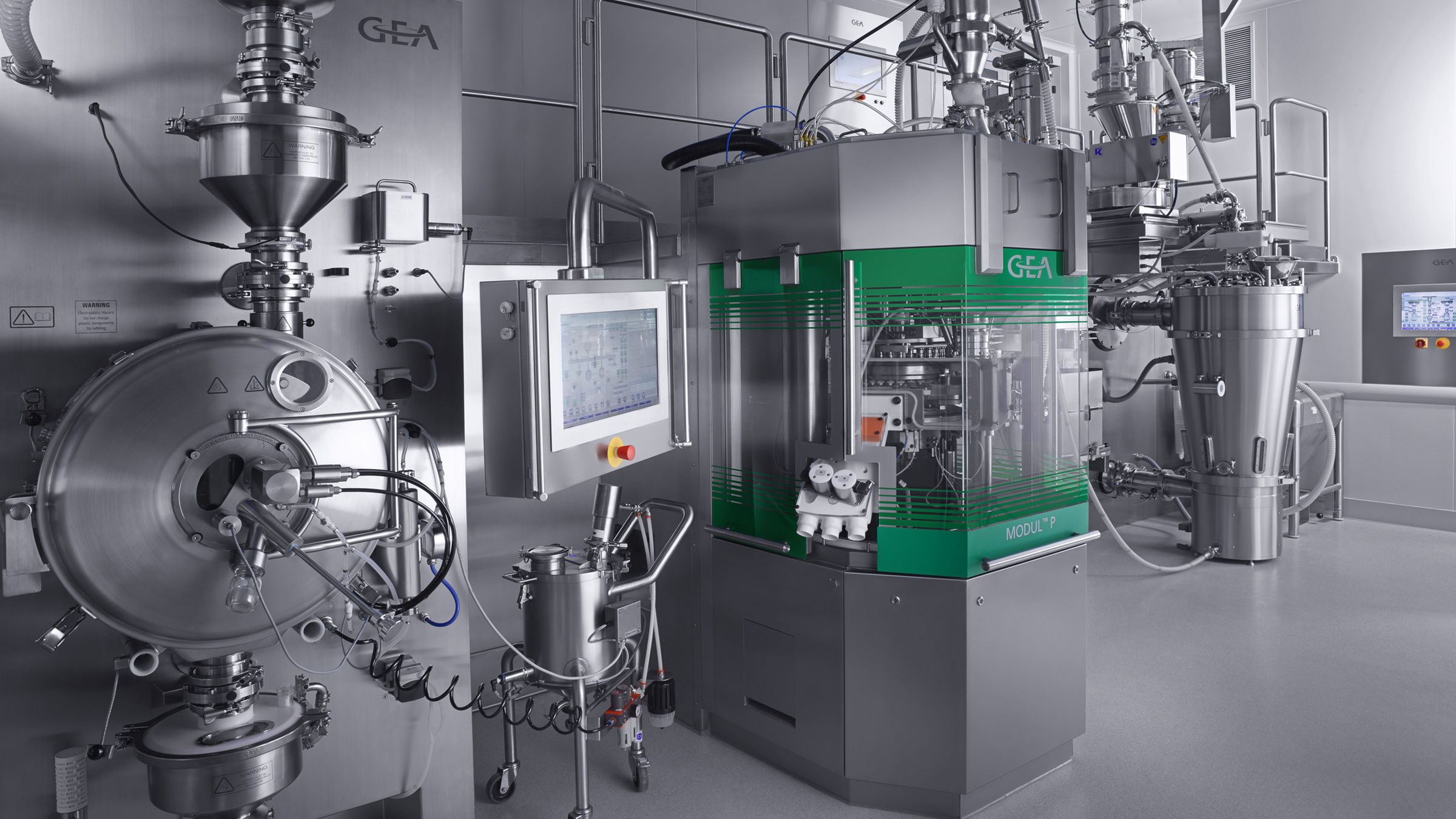 Consigma Continuous Tableting Line
