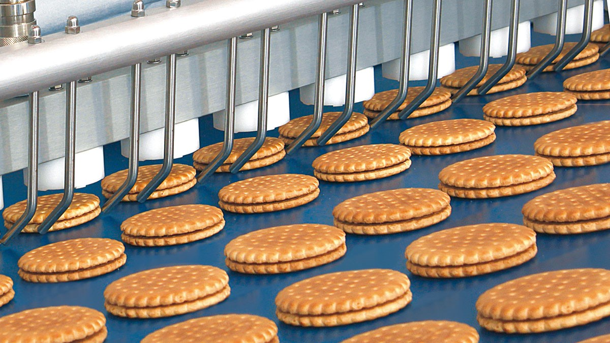Depositors machine capptronic biscuits