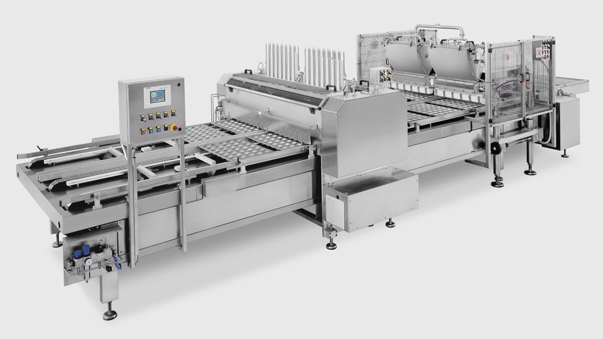 GEA Volumetric depositor with independent volumetric cylinders