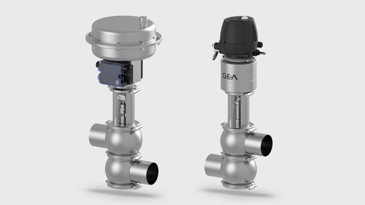 Varivent 174 Control Valves Type S And Type P Set The Flow