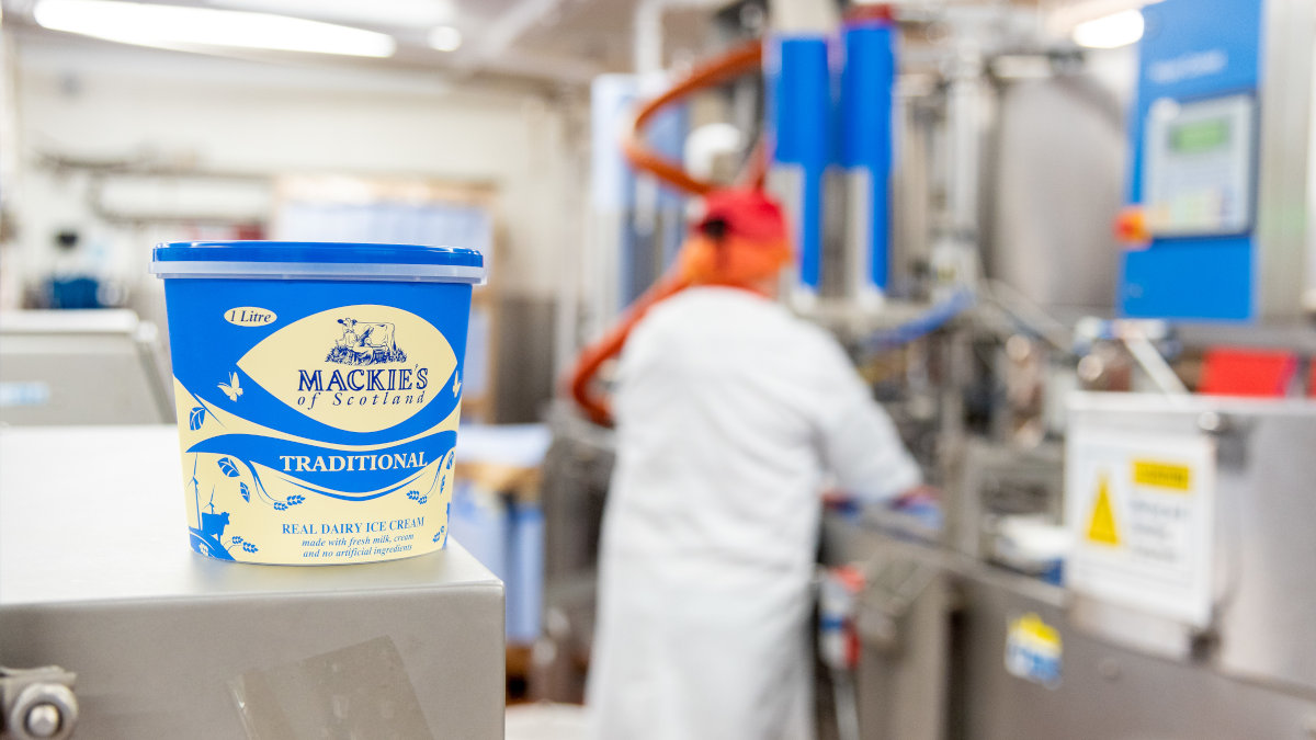 GEA replaced the existing freezer at Mackie's in its Aberdeenshire plant with an ammonia-based, low-carbon, energy-efficient cooling system with absorption chiller. (Photo: Mackie's)