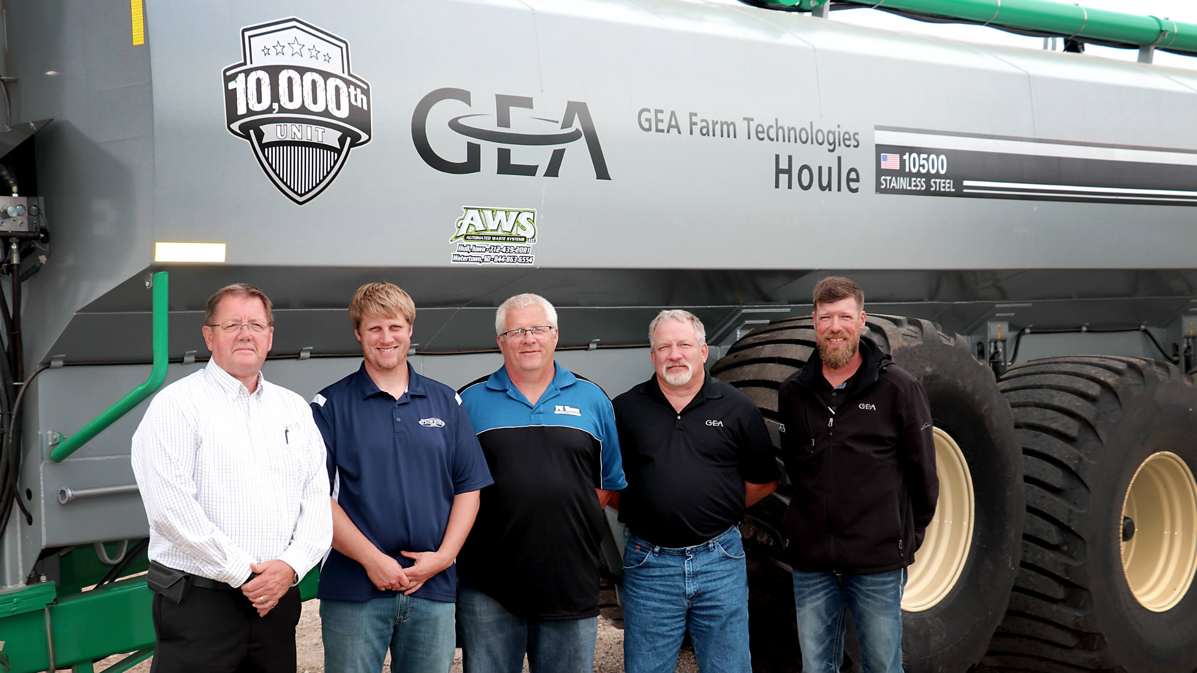 GEA`s 10,000th liquid manure spreader unit