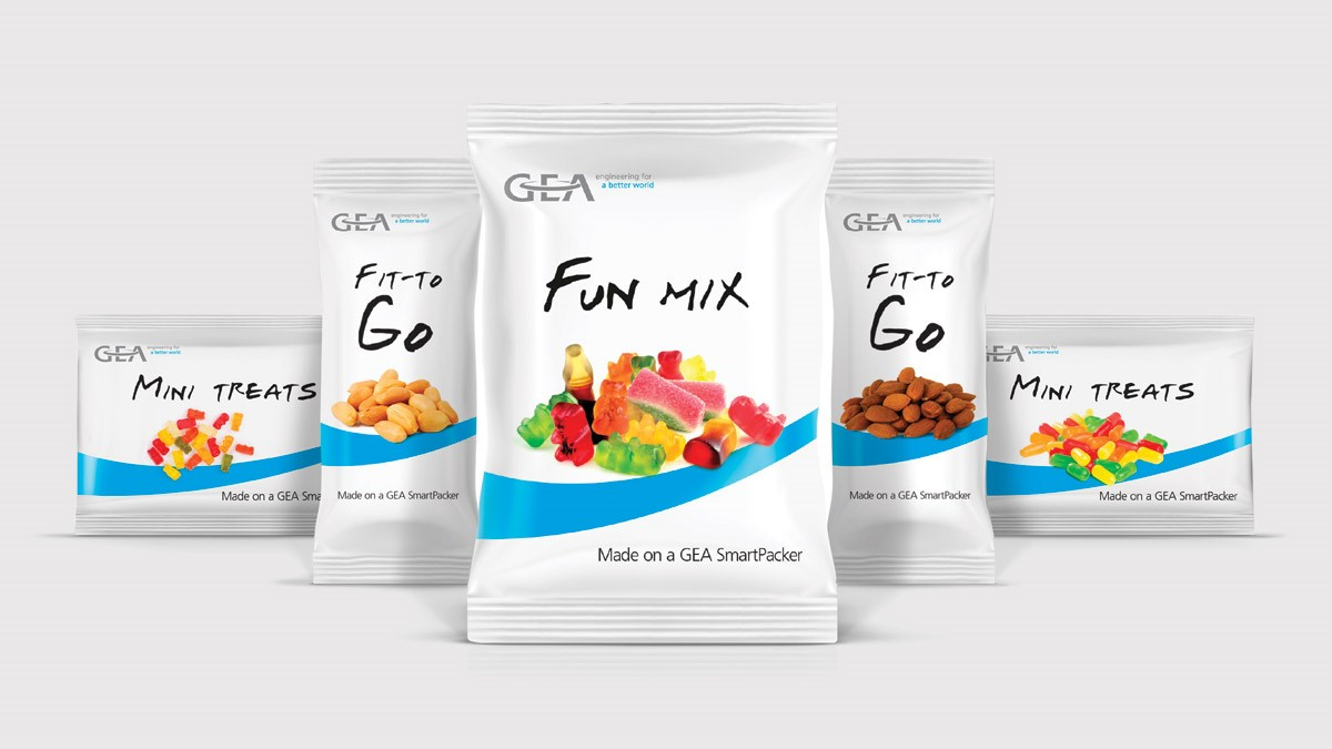 GEA Smartpacker confectionery bag shapes