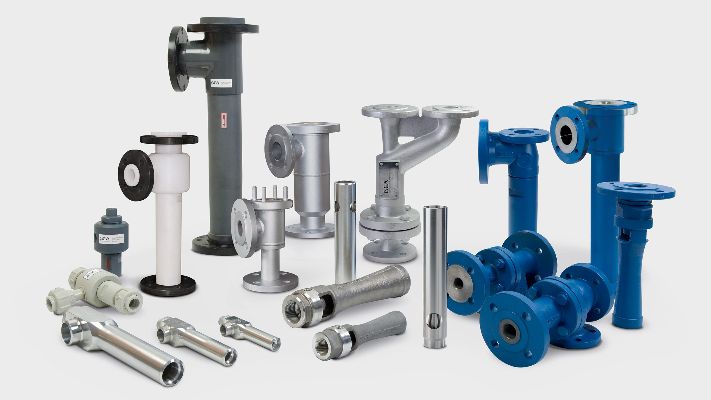 Jet pumps family