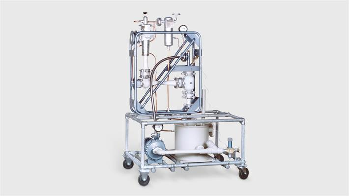 Laboratory steam jet vacuum pumps
