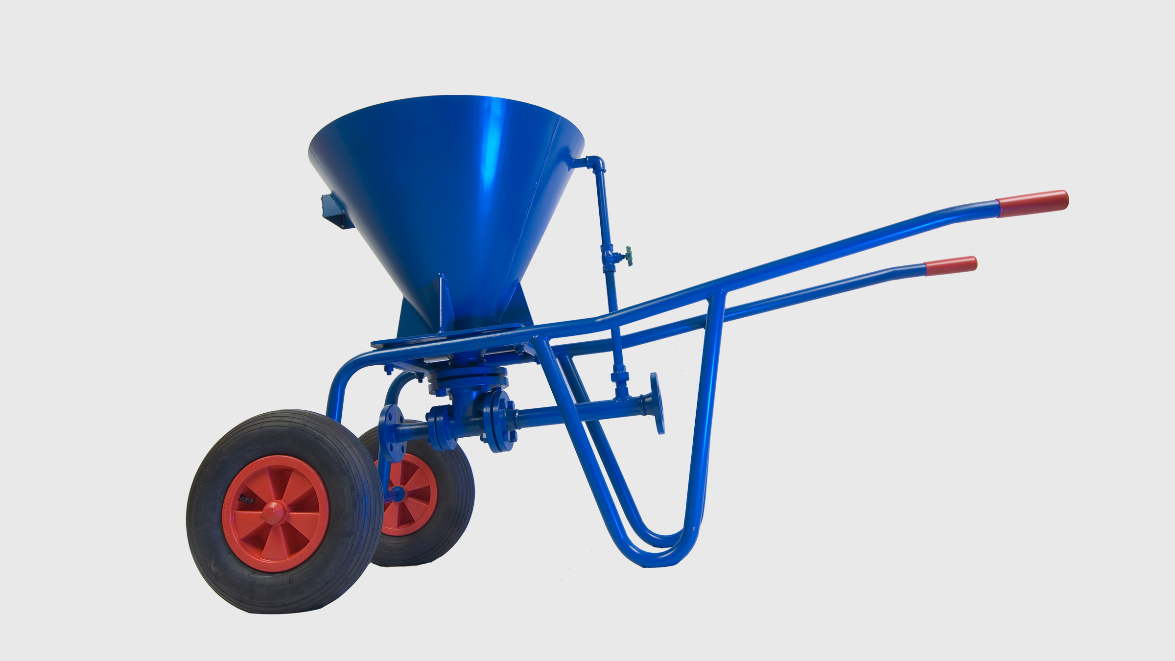 Mobile liquid jet solids pump