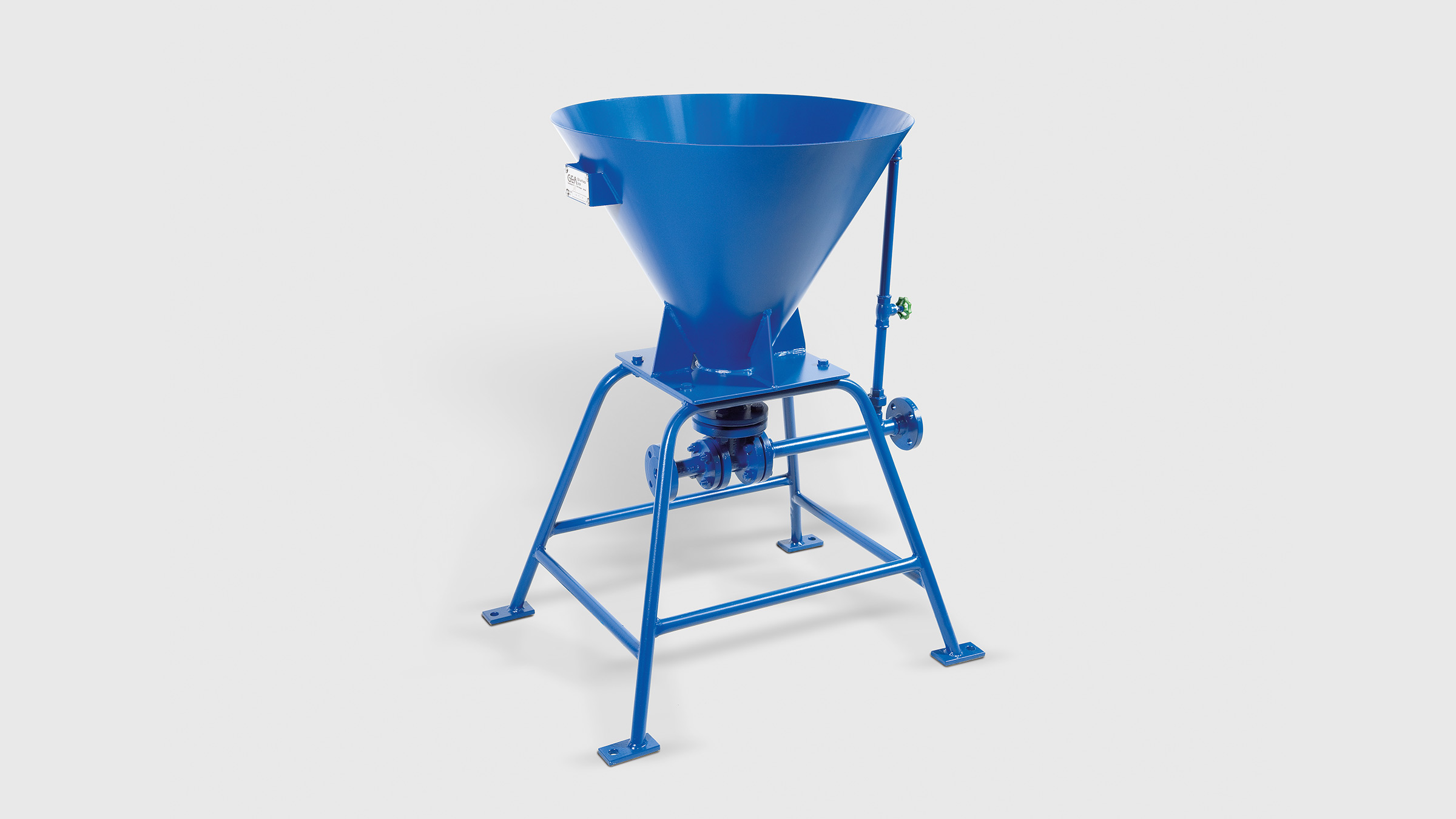 Stantionary liquid jet solids pump