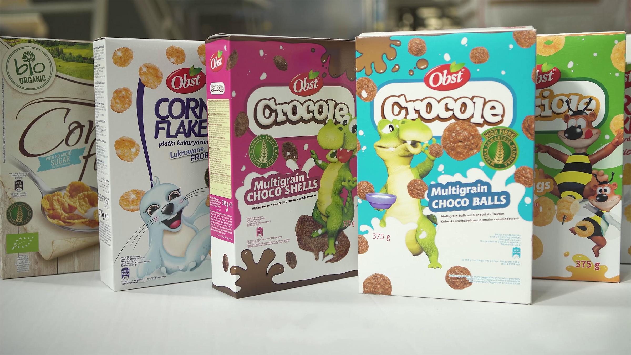 OBST breakfast cereals
