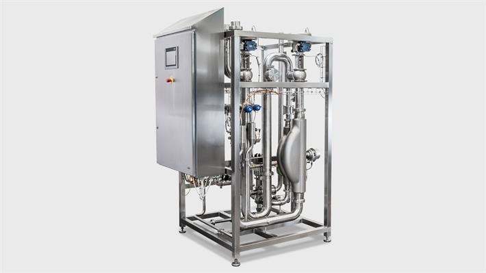 GEA standomat standardization unit for cream fat or milk fat