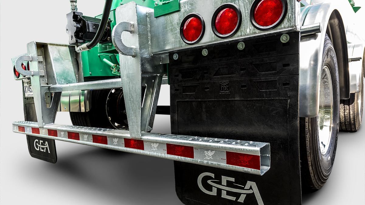 STR Series Manure Semi-Tanker Rear Bumper