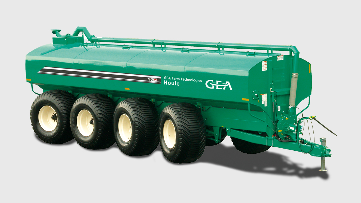 EL48 Steerable Manure Spreader
