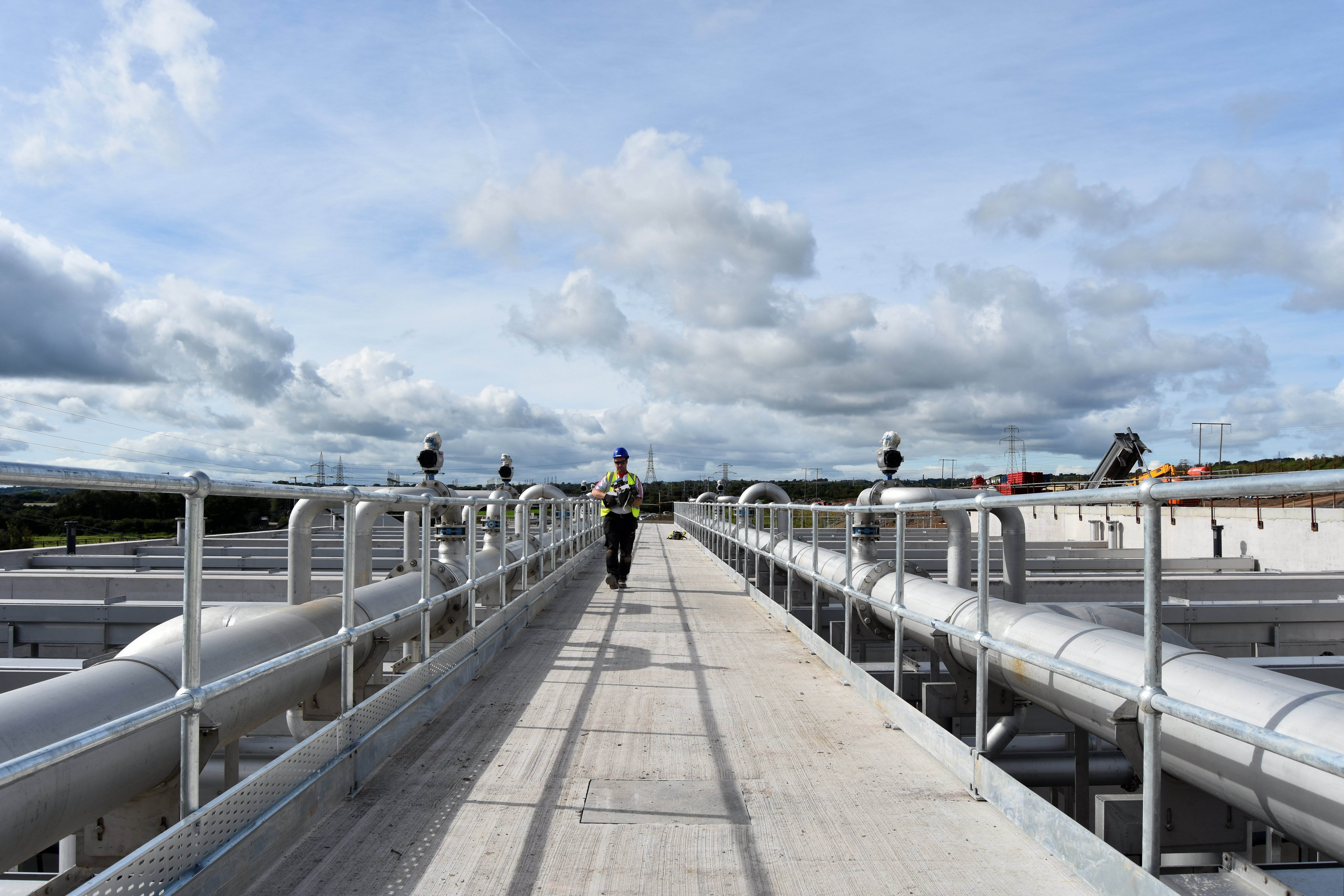 Cork Lower Harbour water treatment plant with Nereda process and GEA biosolid Decanters