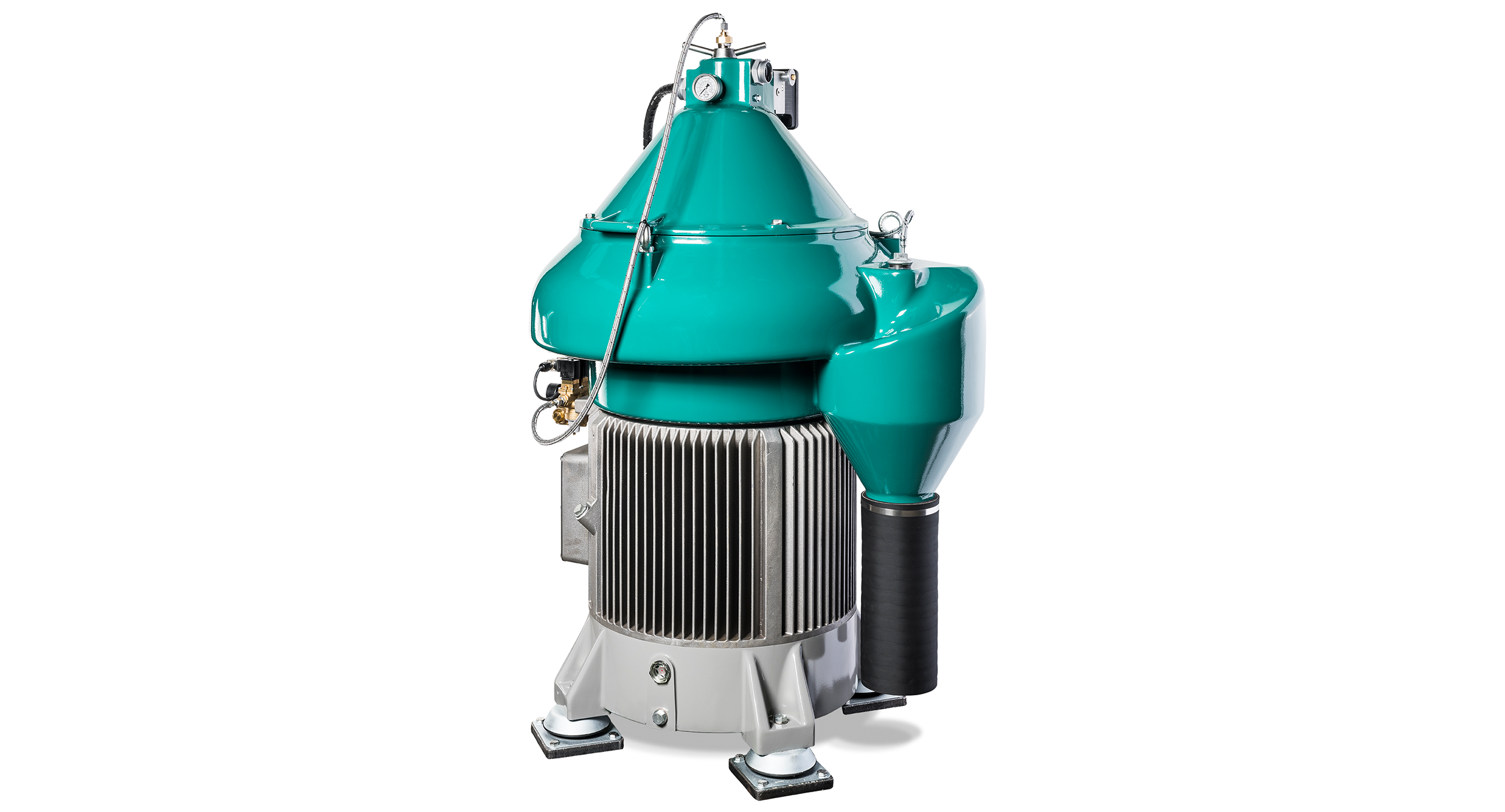 The new GEA marine Separator with integrated direct drive sustainably increases the efficiency on board.