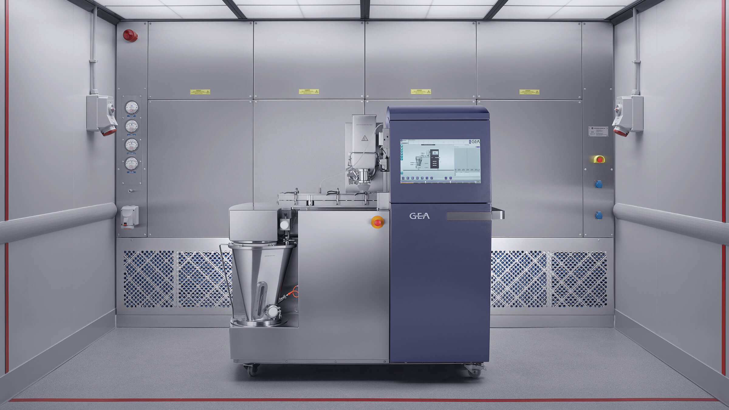 FDA acquires GEA ConsiGma 1 unit for their CDER/OPQ Continuous Lab (img)