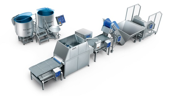 GEA Marination Line with GEA YieldJector