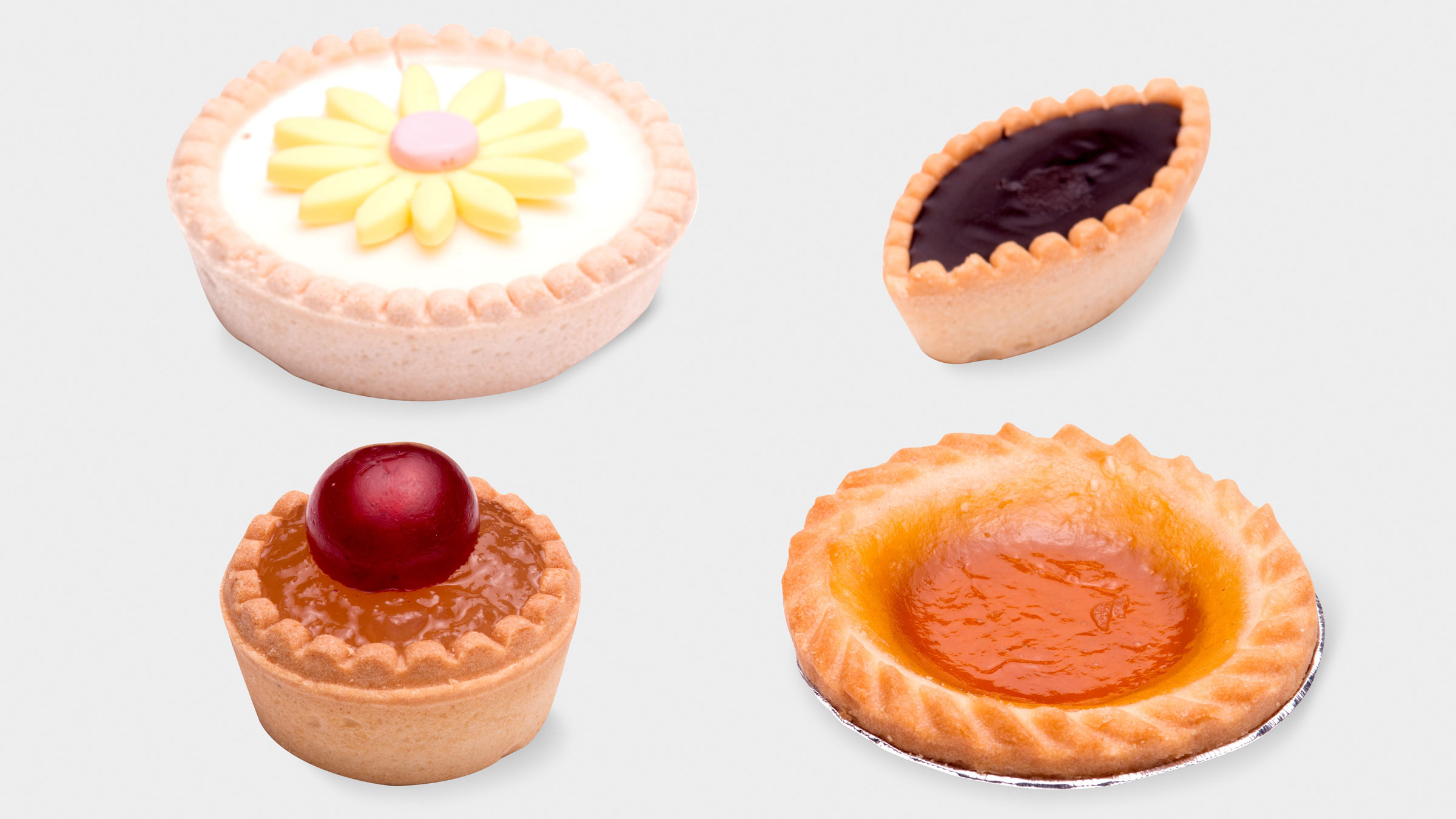 Tartes assorties