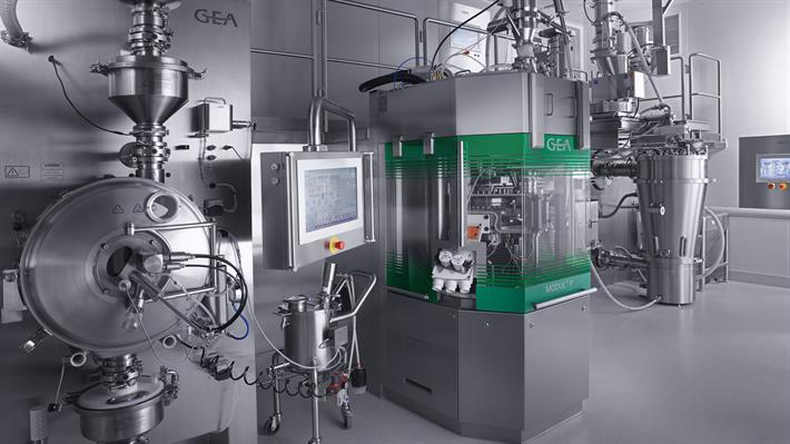 ConsiGma™ Continuous Tableting Line